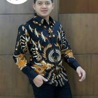 Kemeja Batik Lengan Panjang Puring 6