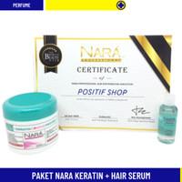 PAKET NARA KERATIN / MASKER RAMBUT + HAIR SERUM / SERUM RAMBUT