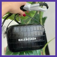 READY STOCK Balenciaga Mini Camera bag CRoco. Branded Murah