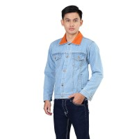 INFICC Jaket Jeans Pria Jaket Trucker Denim Jacket Levis Cowo Premium