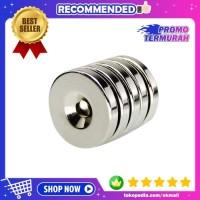 Magnet Neodymium 20x3 mm N35 Super Strong Kuat Ring Cincin 20x3mm 1PCS