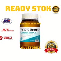 Blackmores omega triple super strength fish oil isi 150 capsul