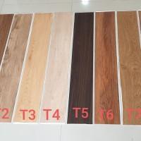 Vinyl Lantai kayu ada Perekatnya/Sticker/Lem Baru