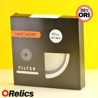 High Quality KF Slim MC UV Filter 67mm - German Schott Optic Glass