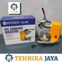 Mesin Serut Es Batu Listrik Kyodo ICS 30 Ice Crusher 2 Mata Pisau