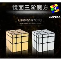 Rubik 3x3 3x3x3 Mirror Yongjun Emas GOLD