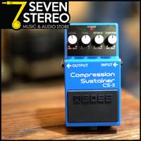 Efek Guitar Boss CS - 3 Compression Sustainer CS3