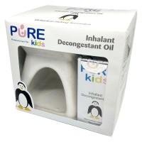Pure BB Paket Inhalant Decongestant Oil Isi 2pcs + Tungku