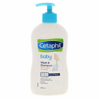 Cetaphil Gentle Baby Wash and Shampoo - 400mL