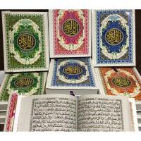Al Quran Cover Putih Model Agenda Kertas Buram Ukuran A5 GROSIR