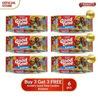 Buy 3 Get 3 FREE Arnott's Good Time Cookies Rainbow