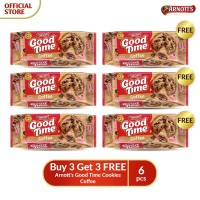 Buy 3 Get 3 FREE Arnott's Good Time Cookies Coffee