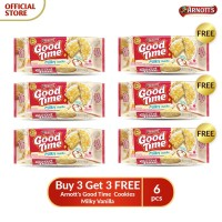 Buy 3 Get 3 FREE Arnott's Good Time Cookies Milky Vanilla