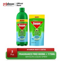 Baygon Liquid Spray Fragrance Free 975ml
