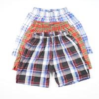Daily Outfits Celana Pendek Boxer Katun Harian Dalaman Unisex