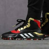 Sepatu Basket Adidas Pro Bounce Black Scarlet EH2394 Original 100%