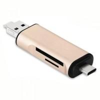 CARD READER USB TYPE C 3.1 OTG MICRO SD MURAH NEW MACBOOK XIAOMI USBC