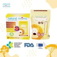 Kantong Asi 100ml Natural Moms - Thermal Sensor - Yellow Lion