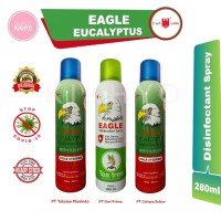 Caplang Disinfektan Eagle Eucalyptus Disinfectan Spray