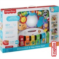 Fisher Price FGG45 Deluxe Kick and Play Piano Gym Baby Toys