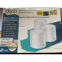 TP Link tp-link Deco X60 X 60 AX3000 Home Mesh Wifi 6 Router System AX