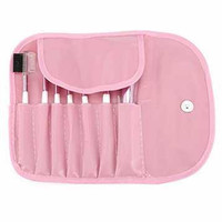 Professional Make Up Brush Kit 7 in 1 with Pouch   Kuas Makeup