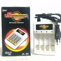 Quick Charger Baterai for AA - AAA 4 slot cas batre