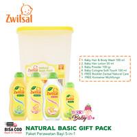 Zwitsal Natural Basic Care Pack Paket Perawatan Bayi Anak 5-in-1
