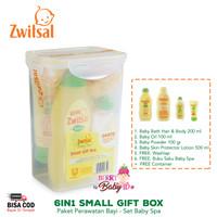 Zwitsal Baby Spa Small Gift Box Natural Care Pack Paket Perawatan Bayi