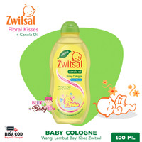 Zwitsal Classic Baby Cologne Floral Kisses 100 ml Parfum Bayi Anak