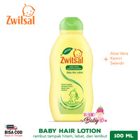Zwitsal Natural Baby Hair Lotion Losion Rambut Bayi 100ml ZWT002
