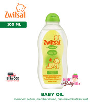 Zwitsal Baby Oil Natural Hypoallergenic Baby Spa 100 ml ZWT008