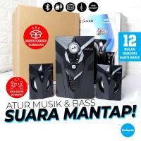 Speaker Aktif Bluetooth Advance M10BT 2.1 35Watt MP3 FM Radio USB Play