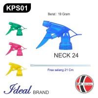IDEAL KPS01 Kepala Sprayer / Sprayer Head (Neck 24) Free Selang 21Cm