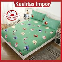 SEPREI Bed Cover KATUN IMPORT UKURAN 120x200 160x200 180x200 Motif Gr