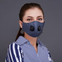 2Madison Workwear #7 Facemask With Air Valve