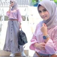 New Cikka Set / Setelan Baju Muslim Remaja / Fashion Termurah