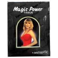 Magic Power Tissue Hitam dan Merah isi 6 sachet