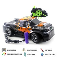 Mainan Mobil Remote Control RC Jeep Double Cabin RTR Truck pick up ABM