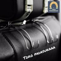 gantungan barang headrest mobil / pengait organizer - gantung / kaitan