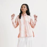 NONA Oversized Shirt Tie Dye Peach