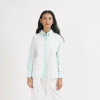 NONA Oversized Shirt Tie Dye Mint