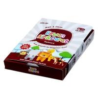 Mainan Edukasi Anak Konsep Flash Card Wipe Clean Hewan Air Darat