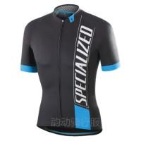Baju Jersey Cycling Sepeda SPECIALIZED Import - Biru, L