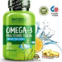 Best Seller Naturelo - Premium Omega-3 Fish Oil - 120 Softgels | 4