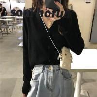Sweater Cardigan Pakaian Wanita Premium Lengan Panjang Blouse