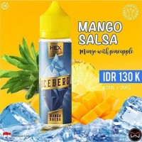 LIQUID CUKAI HEX ICEBERG 3MG 60ML VAPE VAPOR PITA KIWI BERRY