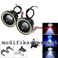 FOGLAMP LED ANGEL EYES 89MM