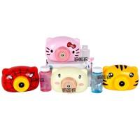 Mainan Anak Bubble Camera Machine Kamera Mesin Gelembung Sabun 4 Tipe