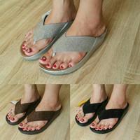 Sandal Jepit Wanita Fitflop Crystal Flip